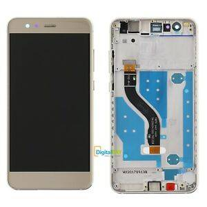 LCD Display P10 LITE con frame Gold