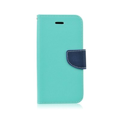 Fancy Book case - APP IPHO 5/5S/5SE menta-blu