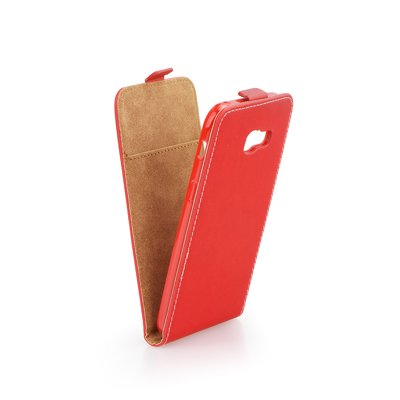 SLIM Flexi Fresh VERTICAL CASE - SAM Galaxy A7 2017  Red