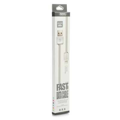 Cavo USB REMAX  Fast Data RC-008i Lighting Iphone 5/5S/5SE/6/6S/7/7 Plus/Ipad bianco