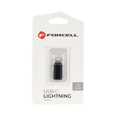 Forcell adattatore tipo C-Lightning Iphone nero