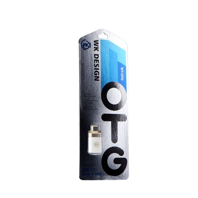 WK-Design Adapter OTG Typ C - USB bianco