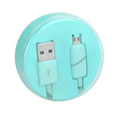 Cavo Micro USB BOX Ring menta
