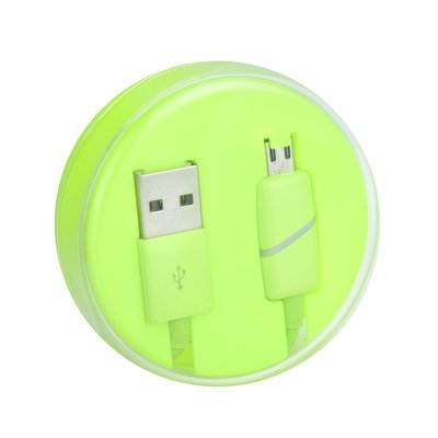 Cavo Micro USB BOX Ring limone