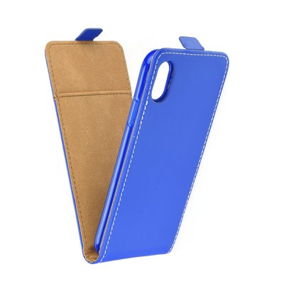 SLIM FLEXI Fresh VERTICAL CASE - IPHONE X blu