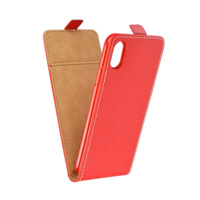 SLIM Flexi Fresh VERTICAL CASE - APP IPHO X Red