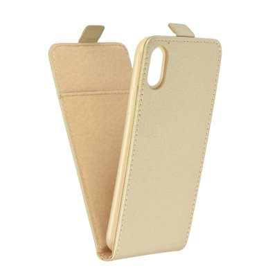 SLIM FLEXI Fresh VERTICAL CASE - IPHONE X gold
