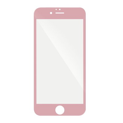 5D Full Glue Tempered Glass - APP IPHO X / XS rosa