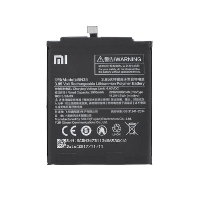 Originale batteria Xiaomi BN34 (Mi Red 5A)
