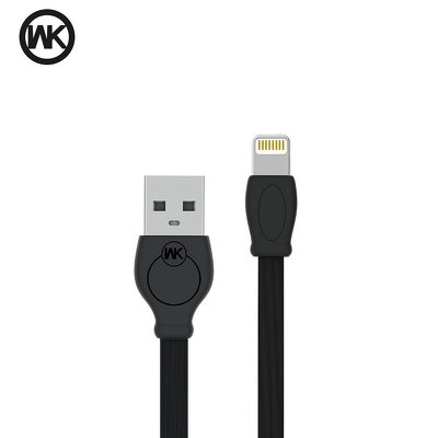 WK-Design cavo USB Fast Speed  Lightning Apple WDC-023 2 metri nero