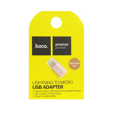 HOCO adattatore Micro USB per Apple Lightning