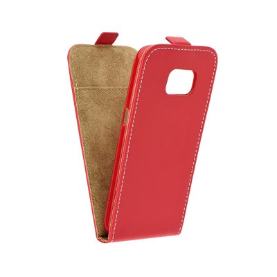 SLIM Flexi Fresh VERTICAL CASE - SAM Galaxy S7 (G930)  Rosso