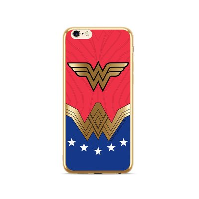 Case with licence Wonder Woman Luxury Chrome for Huawei P30  (008)