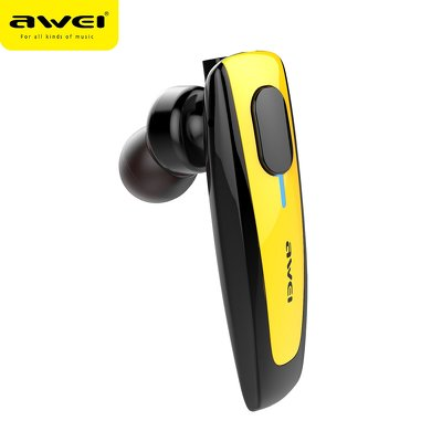 Auricolare multipoint AWEI N3 giallo auricolare