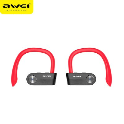 Auricolare Bluetooth AWEI TWS T2 rosso