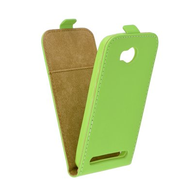 SLIM Flexi Fresh VERTICAL CASE - Huawei Y3 II (Y3-2) lime
